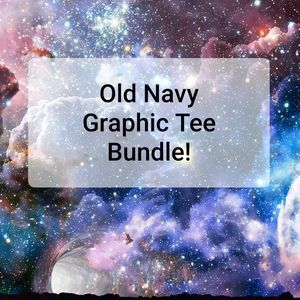 Old Navy | Beauty of Nature Graphic Tee Bundle